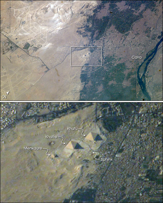 Egypt's Great Pyramids of Giza - related image preview