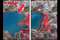 Shrinking Lake Chapala