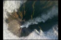 Merapi Volcano, Java