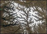 Early Snow on Russia's Putorana Plateau