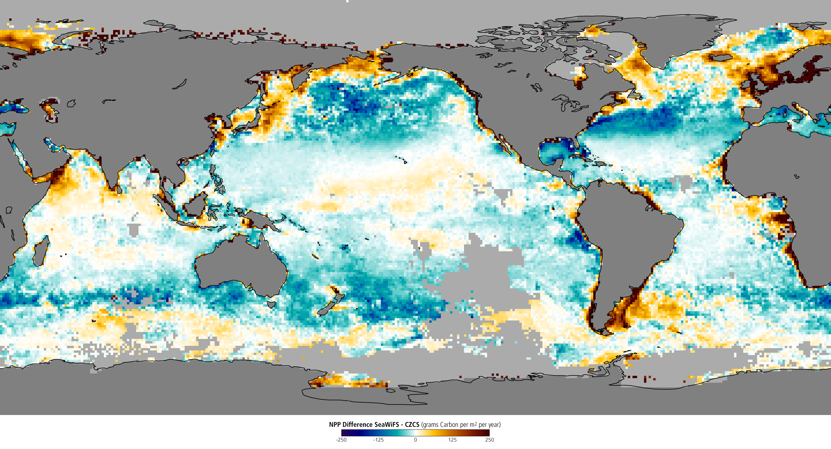 Changes in Ocean Productivity  - related image preview