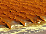High Dunes in the Namib Desert