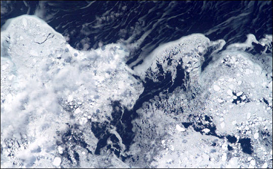 Ice in the Labrador Sea