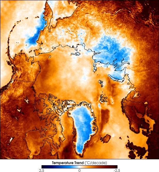 The Warming Arctic