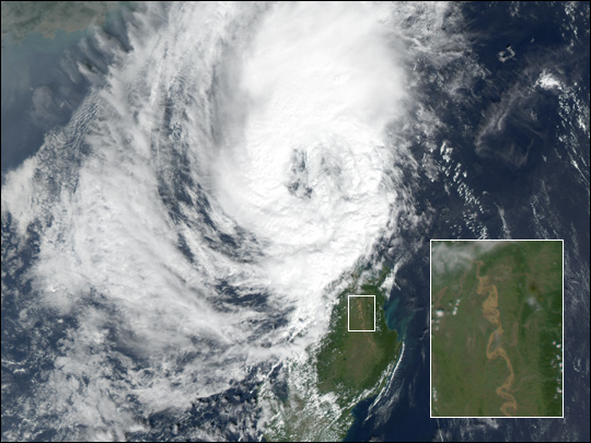 Flooding in Luzon, the Philippines
