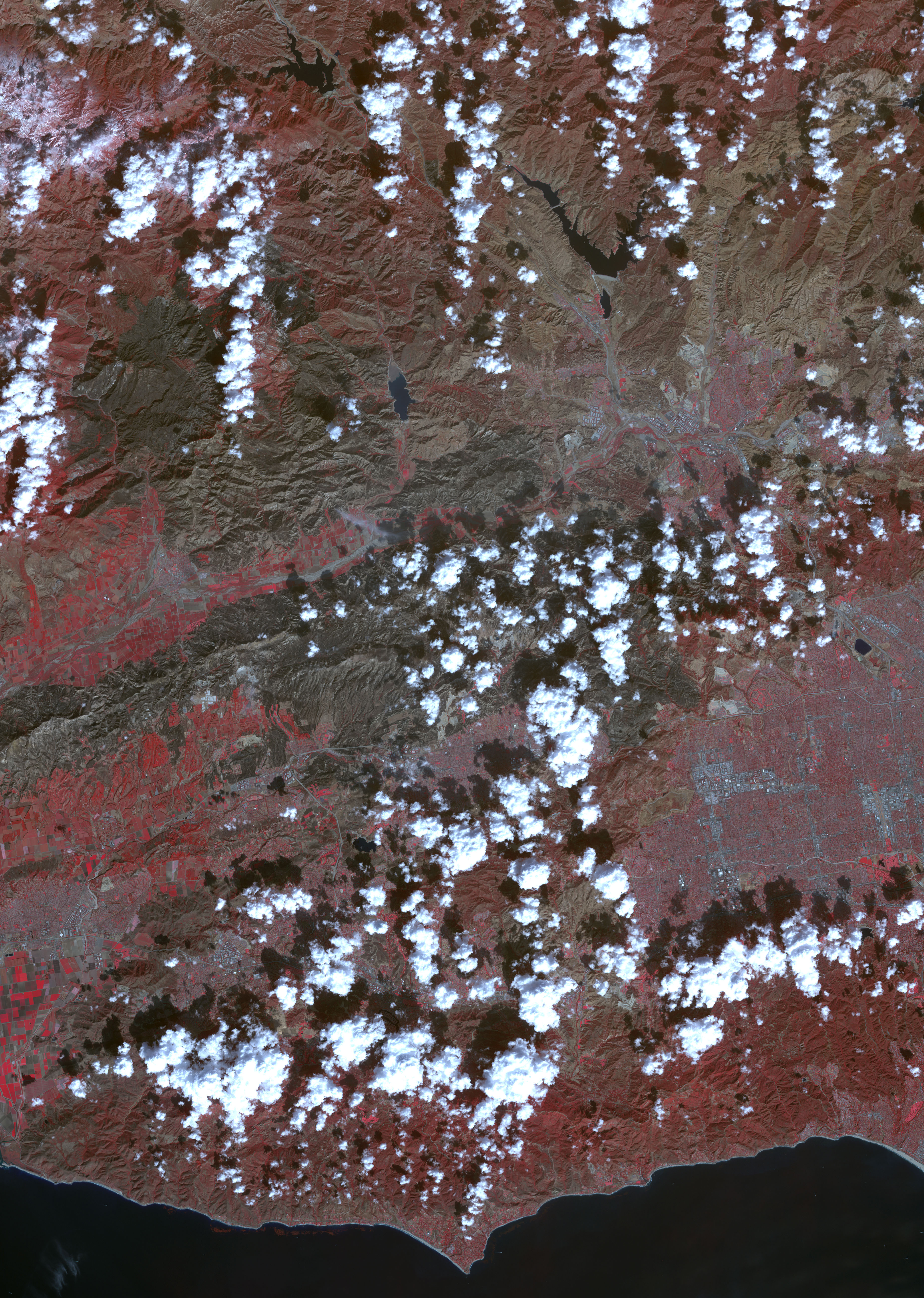 Burn Scar from Southern California Fires - related image preview