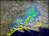 Heavy Rains Across Southeastern U.S.