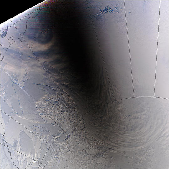 Solar Eclipse over Antarctica