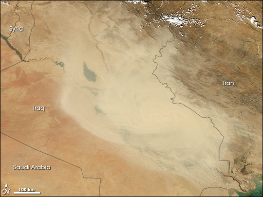 Dust Storm in Iraq