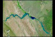 Floods on the Rio Grande