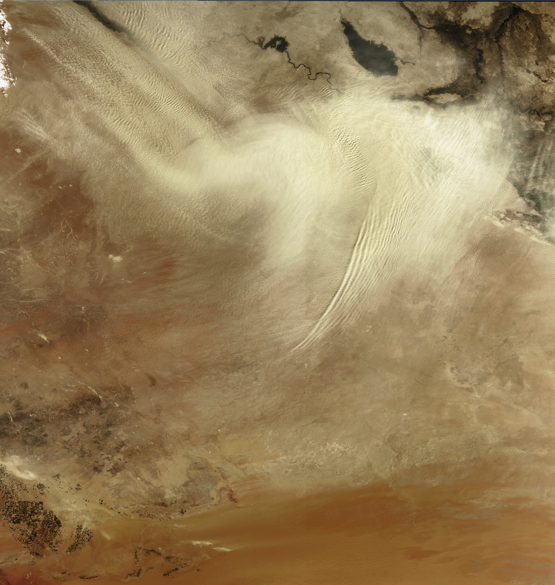 Dust over Iraq - related image preview