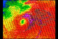 Sub-tropical Storm Laura