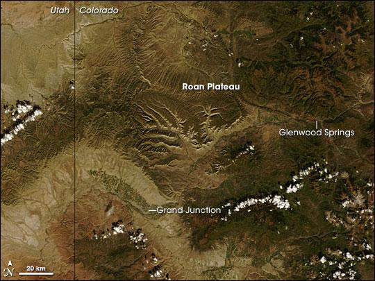 Roan Plateau, Colorado