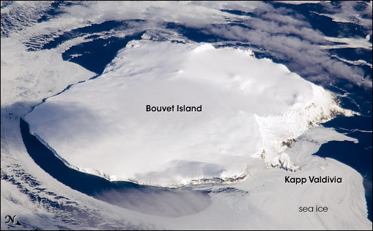 Bouvet Island, South Atlantic Ocean