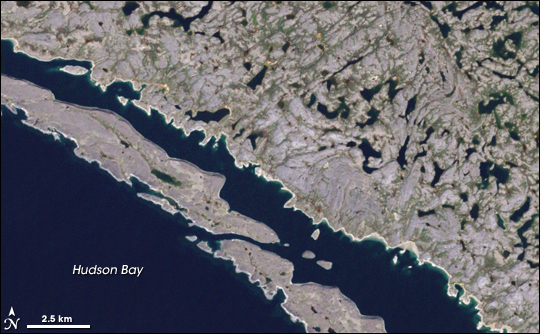 Hopewell Islands, Northwestern Quebec