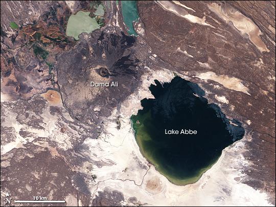 Lake Abbe and Dama Ali