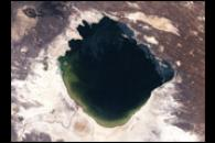 NASA Visible Earth: Lake Abbe and Dama Ali