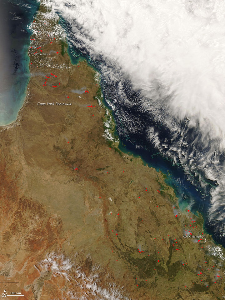 Fires in Queensland - related image preview