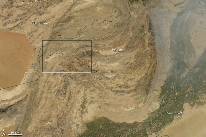 6.4 Magnitude Earthquake Near Quetta, Pakistan