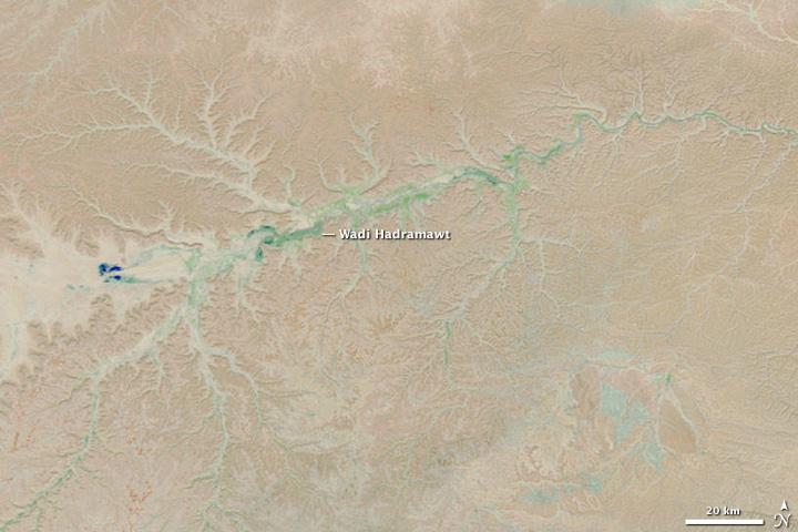Flooding in Yemen