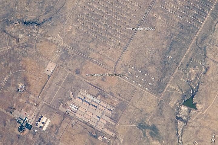 Pueblo Chemical Depot, Colorado
