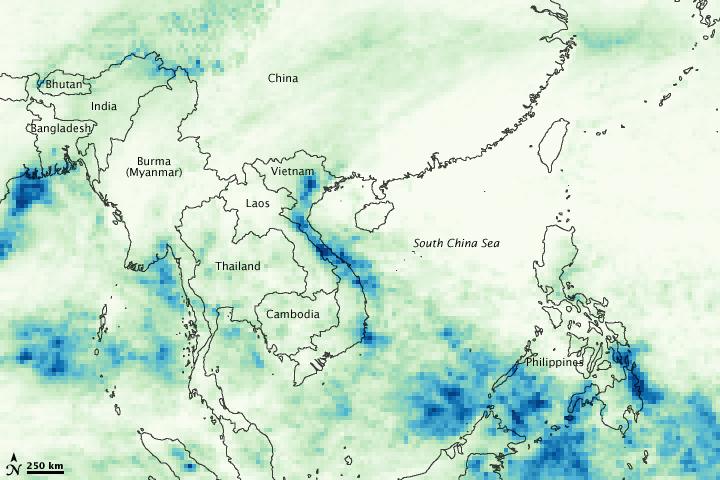 Heavy Rainfall in Vietnam