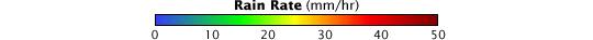 Color bar for Hurricane Paloma