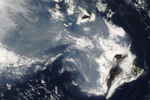 Volcanic Haze over Hawai'i