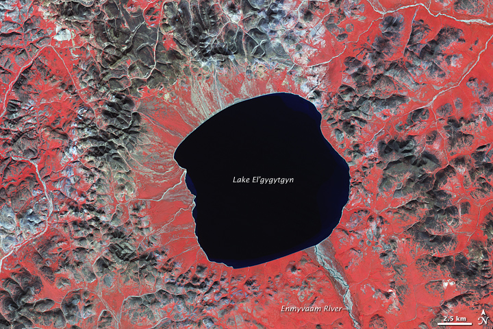 El'gygytgyn Crater, Russian Far East