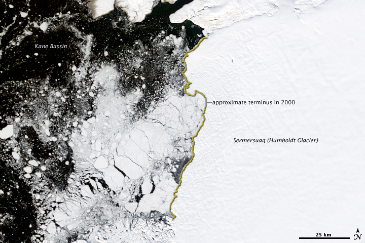 Sermersuaq (Humboldt) Glacier, Greenland
