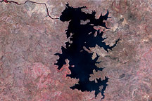 Manantali Reservoir, Mali