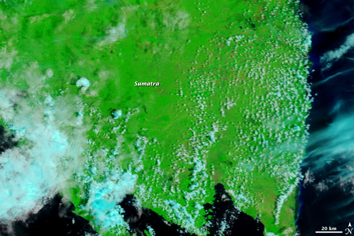 Floods in Sumatra, Indonesia