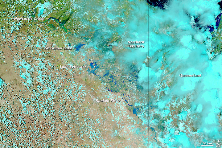 Floods in Northern Australia
