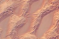 Sand Dunes, Marzuq Sand Sea, Southwest Libya