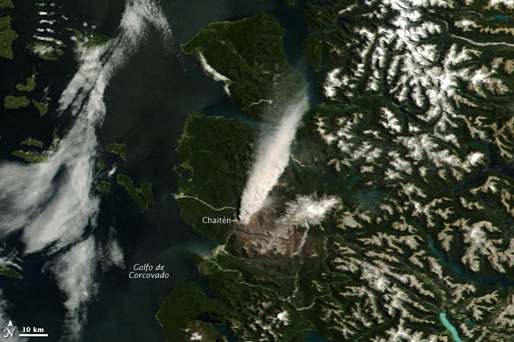 Continued Activity at Chaiten Volcano