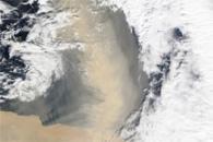Dust Plume off Egypt