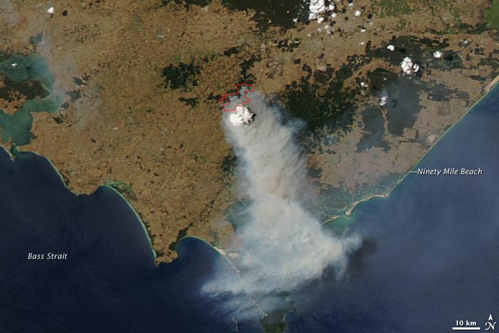 Fires in Southeast Australia