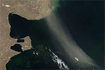 Dust Plume off Argentina