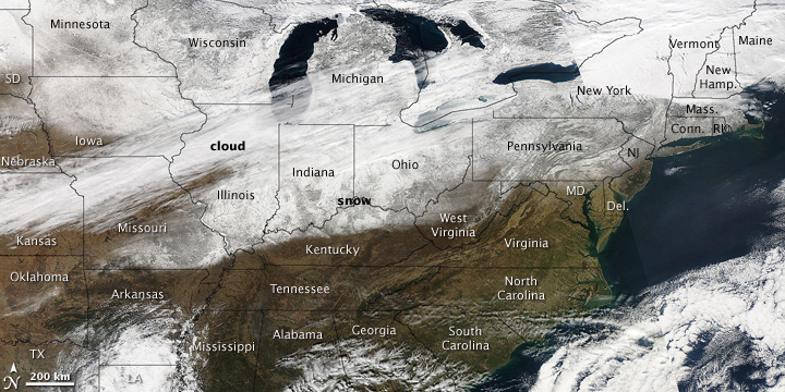Ice Storm Hits the United States