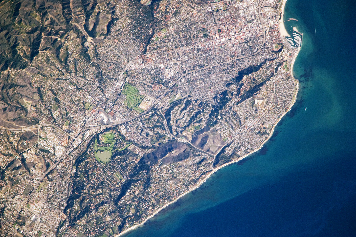 NASA Visible Earth Santa Barbara California