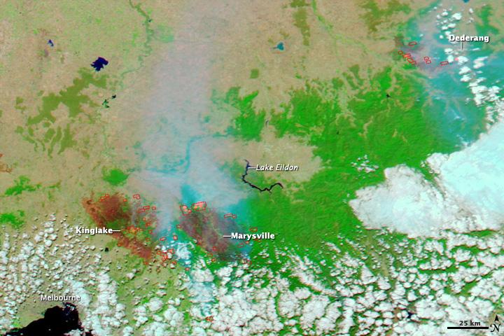 Bushfires in Southeast Australia