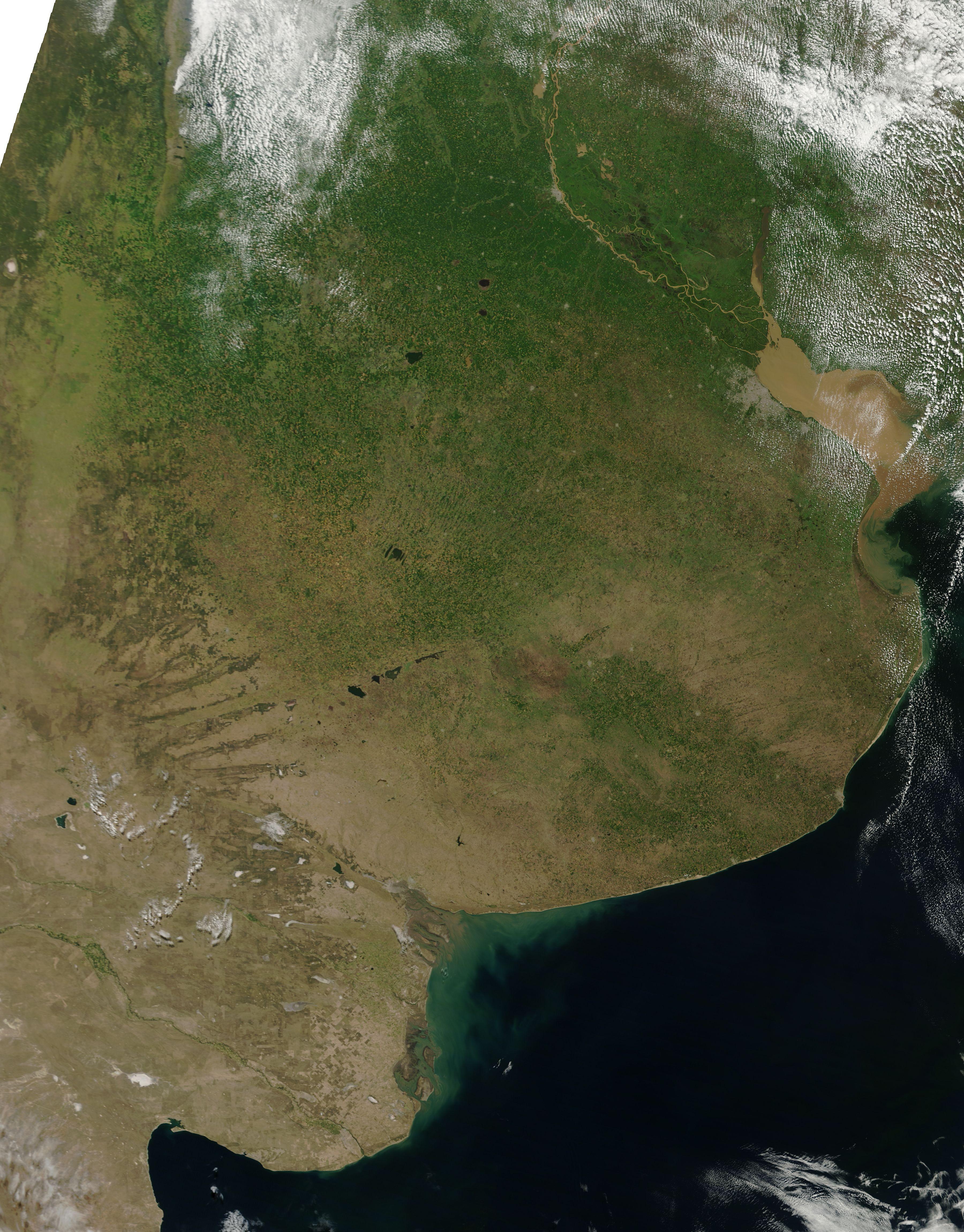 La Tierra como arte. Imágenes de satélite de la Tierra