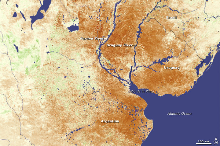 Drought in Southern South America