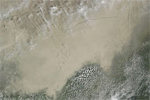 Dust South of the Sahel