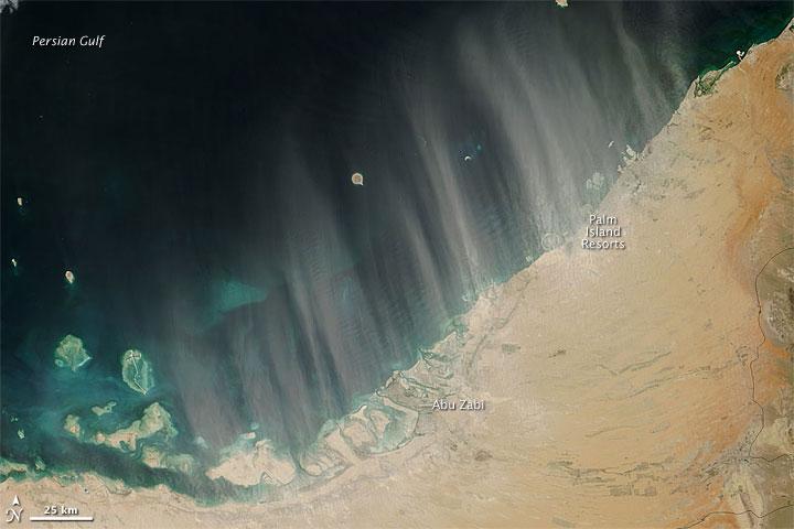 Dust off the United Arab Emirates