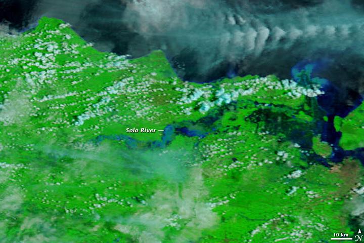 Floods in East Java, Indonesia