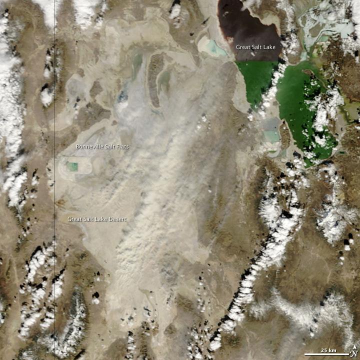 Utah Dust Storm