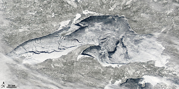 Ice on Lake Superior