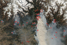 Forest Fires in Nepal