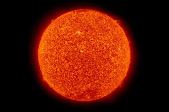 Sunspots at Solar Maximum and Minimum - related image preview
